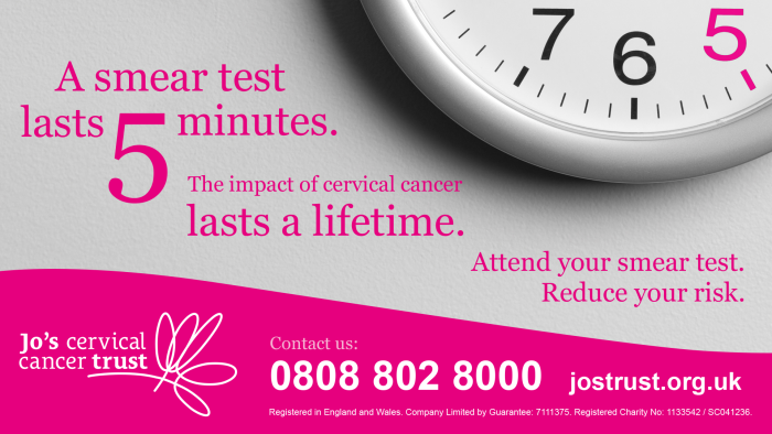 Cervical Screening Saves Lives